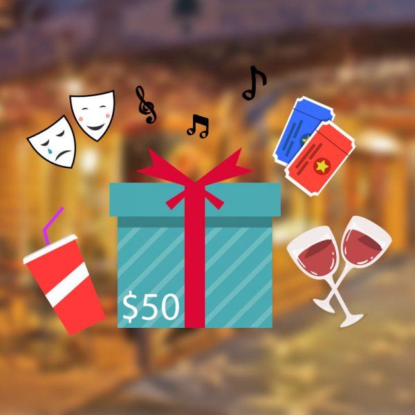 Gift Voucher 50 new