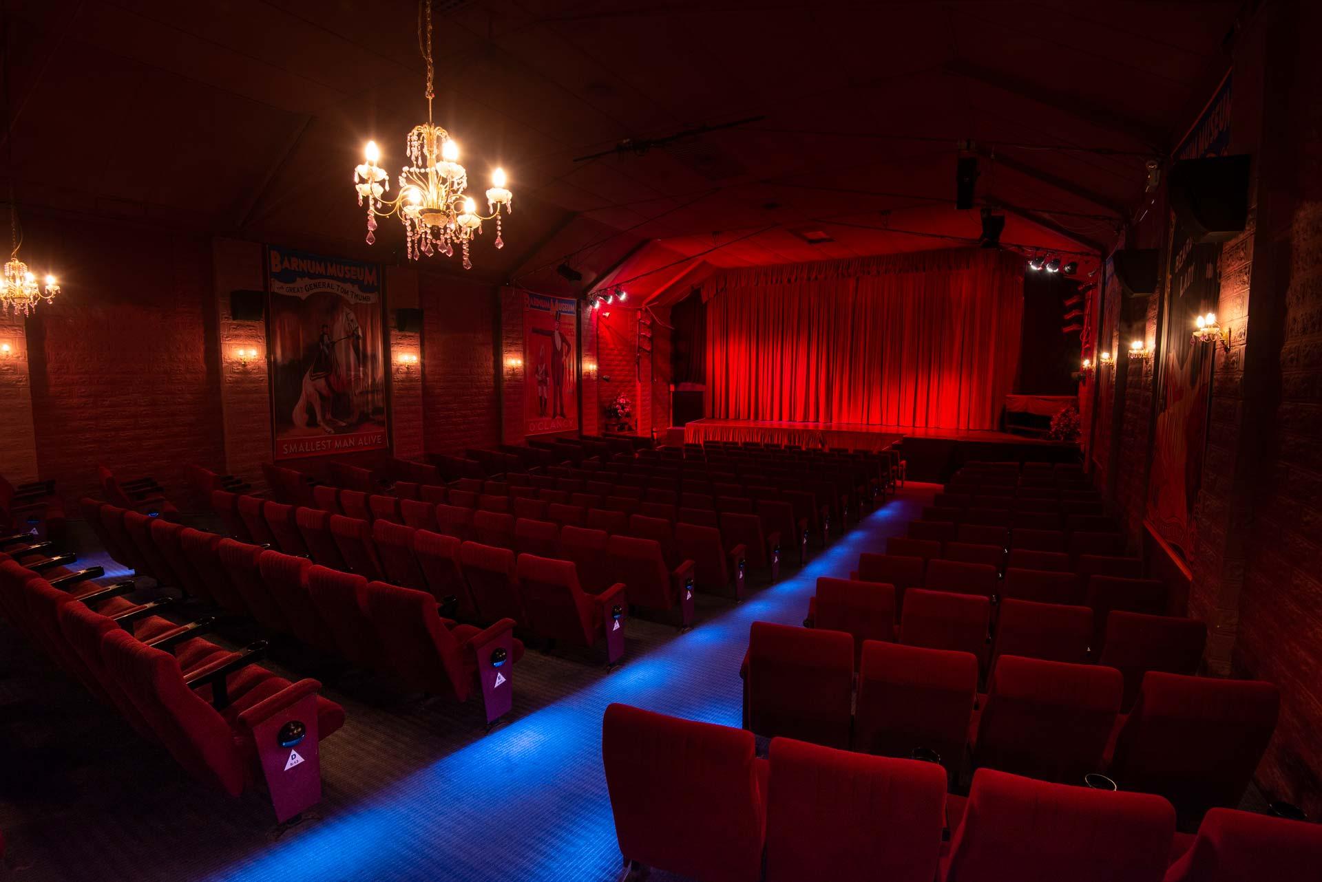 Theatre inside new